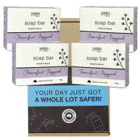 Goats milk Bar Soap 4 Pack
