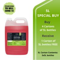 TGA Sanitiser Intro Deal 5L